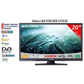 Salora 20inch DVB C/T/S2