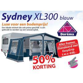 Dorema Sydney XL300 Blauw