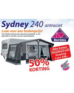 Dorema Sydney 240 Antraciet