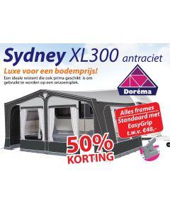 Dorema Sydney XL300 Antraciet