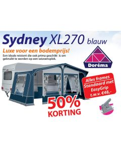 Dorema Sydney XL270 Blauw