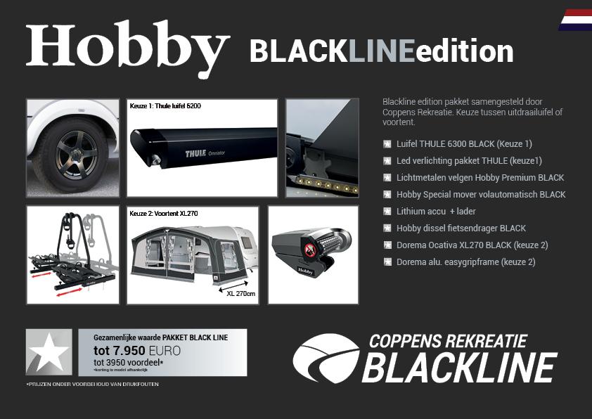 Hobby caravan black line