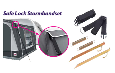 Safelock stormbanden set