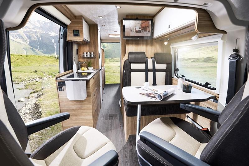 foto camper carado bus camper vlow 2018 interieur foto 1