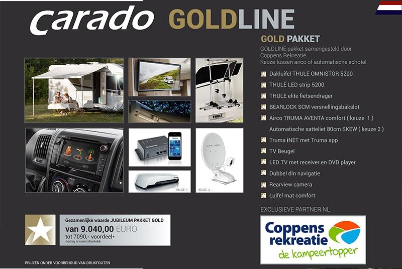 Carado campers gold edition 2018