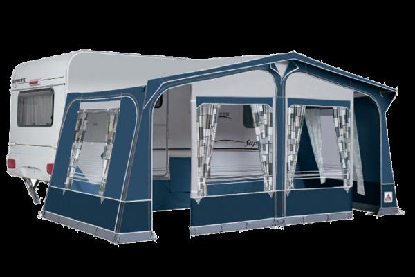 Caravan voortenten